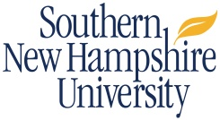 The logo for Southern New Hampshire University